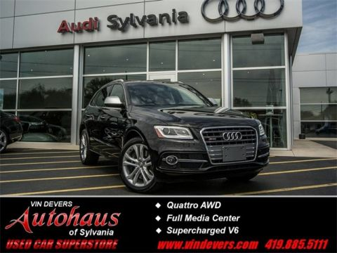 Certified Used Audi SQ5 3.0T Premium Plus