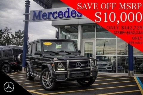 Pre-Owned 2016 Mercedes-Benz G-Class G 63 AMG® AWD 4MATIC