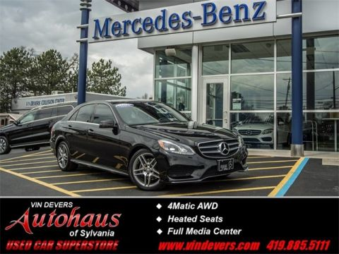 Certified Pre-Owned 2014 Mercedes-Benz E-Class E 350 AWD 4MATIC