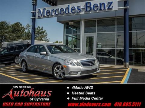 Certified Pre-Owned 2013 Mercedes-Benz E-Class  AWD 4MATIC