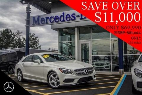 Pre-Owned 2016 Mercedes-Benz CLS 400 AWD 4MATIC