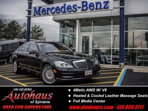 Pre-Owned 2010 Mercedes-Benz S-Class S 550 AWD 4MATIC