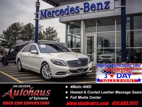 Certified Used Mercedes-Benz S-Class S 550